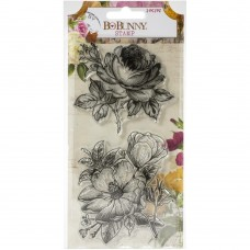 Carimbo - BoBunny Clear Stamps Botanical Journal