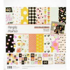Kit de papel - Simple Stories Collection Kit  Kate & Ash