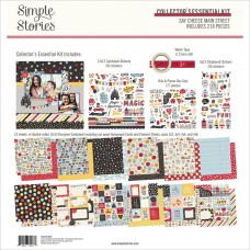 Kit de papel - Simple Stories Collector's Essential Kit Say Cheese Main Street