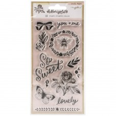 Carimbo - Maggie Holmes Marigold Acrylic Clear Stamps