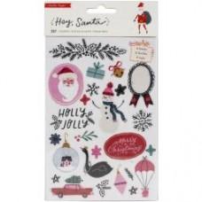 Adesivo - Hey, Santa Sticker Book 207/Pkg