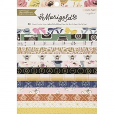 Bloco de Papel - Crate Paper Single-Sided Card Making Pad Maggie Holmes Marigold