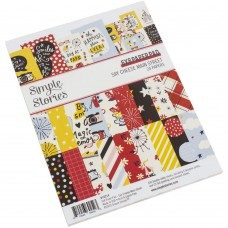 Bloco de Papel - Simple Stories Double-Sided Paper Pad  Say Cheese Main Street