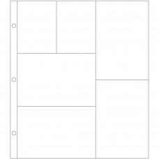 Refil plástico - Project Life Photo Pocket Pages Design G