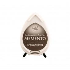 Carimbeira - Memento Dew Drop Dye Ink Pad Tuxedo Espresso Truffle