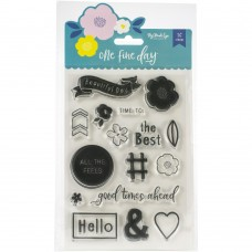 Carimbo - One Fine Day Clear Stamps