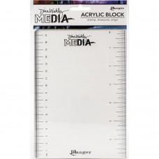 Bloco de acrílico - Dina Wakley Meida Stamping Block