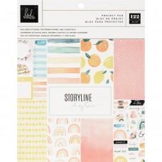 Bloco de papel - Heidi Swapp Storyline Chapters Project Pad The Journaler