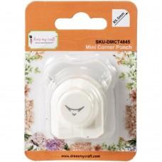 Furador para arredondar canto - Dress My Craft Mini Paper Punch Mini Corner