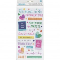 Adesivo - Paige Evans Go The Scenic Route Thickers Stickers Scenic Route