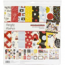 Kit de papel - Simple Stories Collection Kit Say Cheese Main Street