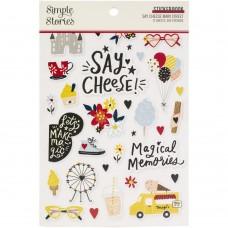 Adesivo - Simple Stories Sticker Book Say Cheese Main Street