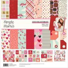"""Kit de papel - Simple Stories Collection Kit 12""""X12"""" Sweet Talk"""