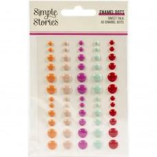 Enfeite - Sweet Talk Enamel Dots Embellishments