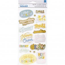 Adesivo - Obed Marshall Buenos Dias Thickers Stickers 37/Pkg Phrases