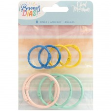 Argola - Obed Marshall Buenos Dias Colored O-Rings 8/Pkg