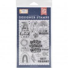 Carimbo - Echo Park Stamps Best Friends