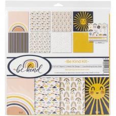 Kit de papéis - Reminisce Collection Kit Be Kind