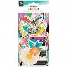 Recortes em cardstock - Vicki Boutin Color Study Ephemera Cardstock Die-Cuts Icons
