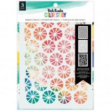 Stencil - Vicki Boutin Color Study Stencils  Bubbles
