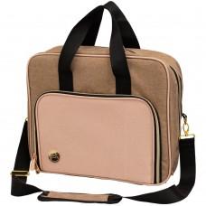 Bolsa - We R Memory Keepers Crafter's Shoulder Bag Taupe & Pink