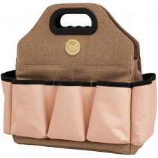 Bolsa - We R Memory Keepers Crafter's Tote Bag Taupe & Pink