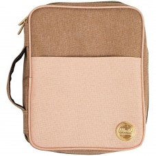 Bolsa - We R Memory Keepers Crafter's Carry Pouch Taupe & Pink