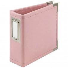 Álbum - We R Classic Leather D-Ring Album Pink