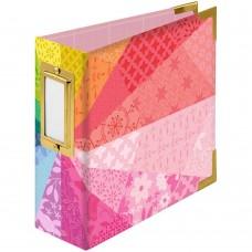 Álbum - We R Paper Wrapped D-Ring Album Color Wheel