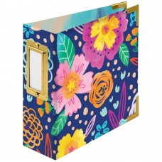 Álbum - We R Paper Wrapped D-Ring Album Floral