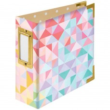 Álbum - We R Paper Wrapped D-Ring Album Geometric