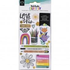 Adesivo - Vicki Boutin Color Study Sticker Book W/Gold Foil Accents