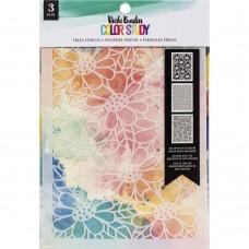 Stencil - Vicki Boutin Color Study Stencils Fresh