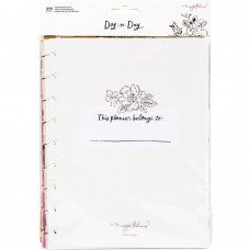 Refil planner de disco - Maggie Holmes Day-To-Day 6 Month Extension Pack