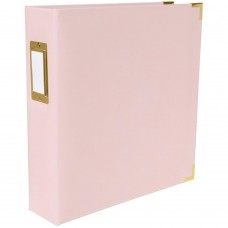 Álbum -  We R Paper Wrapped D-Ring Album Pink