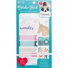 Adesivo - American Crafts Sticker Book Shimelle w/Holographic Foil