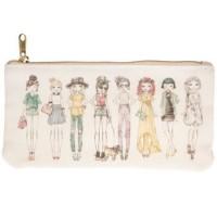 Estojo - Watercolor Girls Planner Pouch