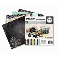 Bloco de washi tape - We R Memory Keepers - Chalkboard Collection