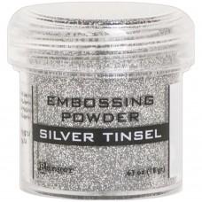 Pó de emboss - Embossing Powder Silver Tinsel