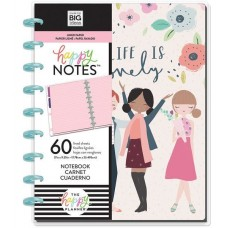 Caderno de disco - Happy Planner Medium Notebook Sheets Squad Life, Lined