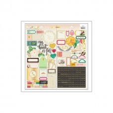 Adesivo - Maggie Holmes Open Book Cardstock Stickers Accent & Phrase