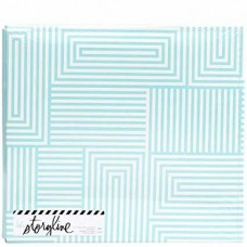 Álbum para Scrapbook tipo pino - Heidi Swapp Storyline2 Post Bound Album  Geometric
