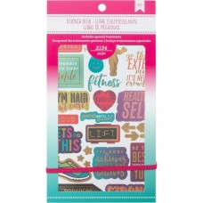 Adesivos - American Crafts Planner Stickers Fitness