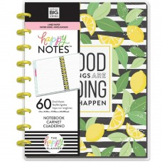 Caderno de disco - Happy Planner Medium Notebook Sheets Good Things, Lined Paper