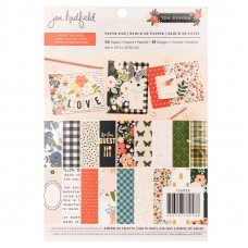 Bloco de Papel - Pebbles Single-Sided Paper Pad Jen Hadfield The Avenue