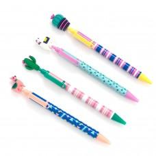 Caneta - EK Pens 4/Pkg Llama And Cati