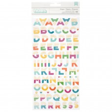 Alfabeto - Dear Lizzy Stay Colorful Thickers Stickers Marquee Multi