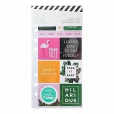 Adesivos - Heidi Swapp Memory Planner Cardstock Stickers Fresh
