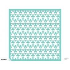 Stencil - Kaisercraft Designer Template  Triangles