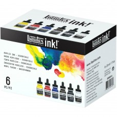 Kit de tintas - Liquitex Professional Ink! Set 30ml 6/Pkg Essential Set